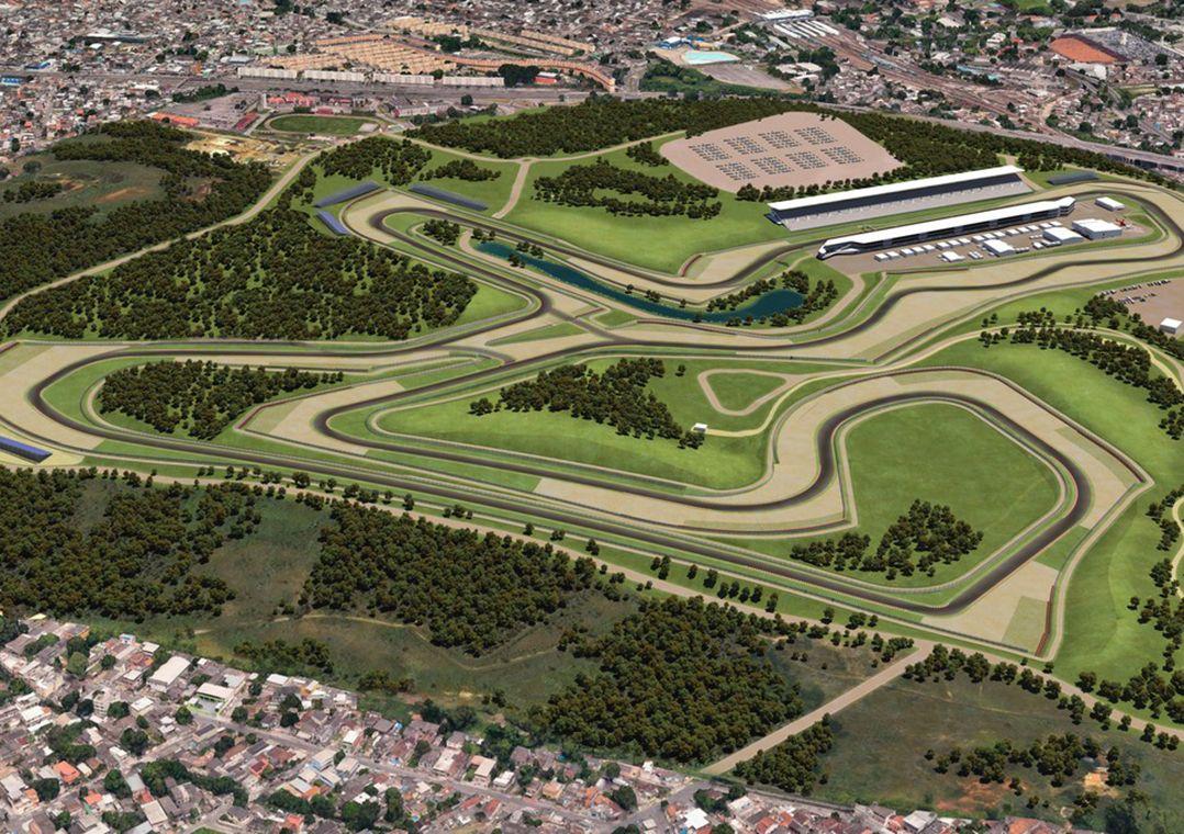 Consórcio Rio Motorsport foi anunciado em maio como o vencedor do processo de licitação para erguer o autódromo / Divulgação