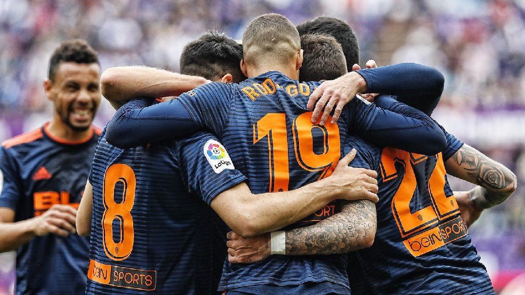 Valencia bate Valladolid e garante vaga espanhola na Liga dos Campeões