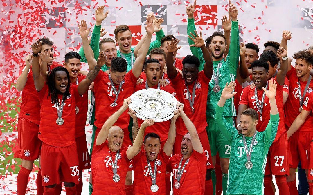Bayern de Munique vence o Campeonato Alemão pela sétima vez seguida