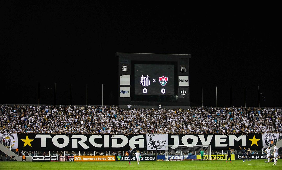 Santos confirma 5.100 ingressos vendidos e quer a Vila Belmiro lotada