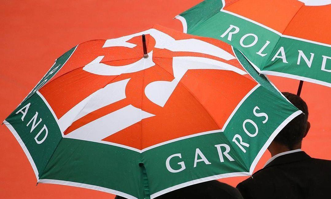 Chuva cancela jogos desta quarta-feira em Roland Garros