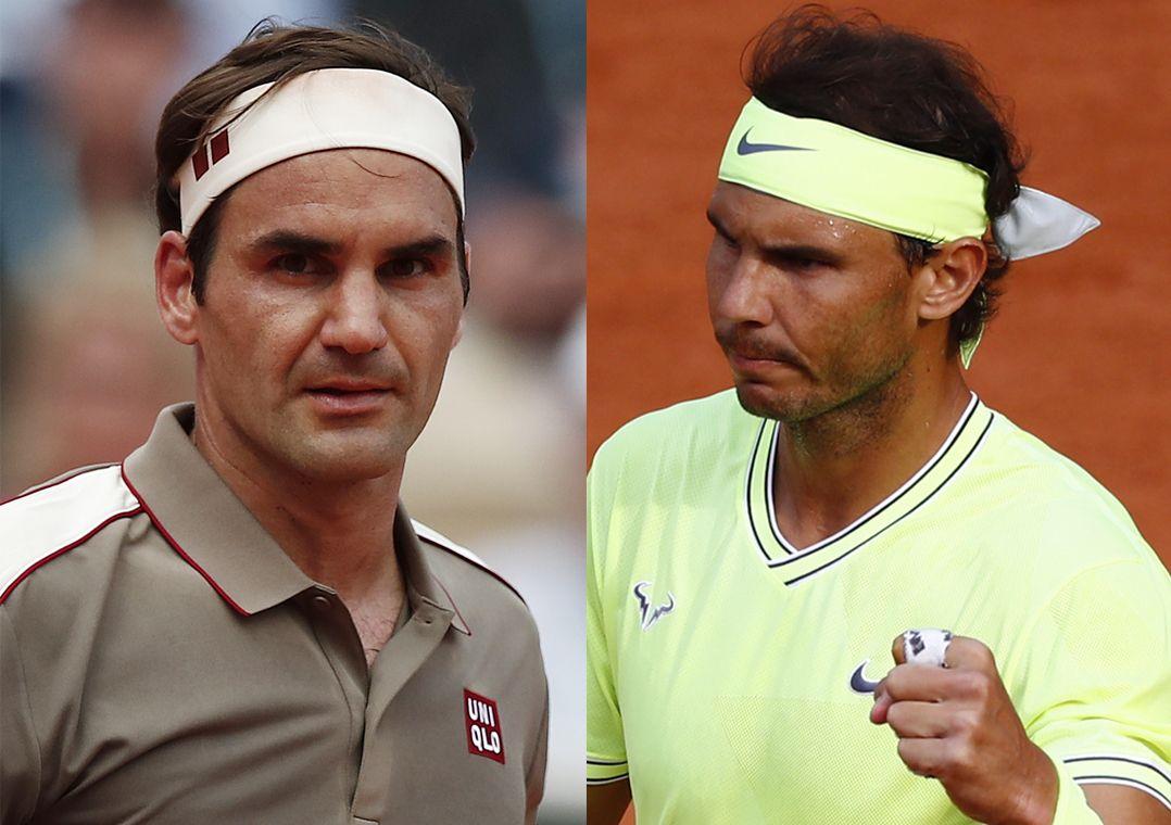 Federer e Nadal duelam em busca de vaga na final