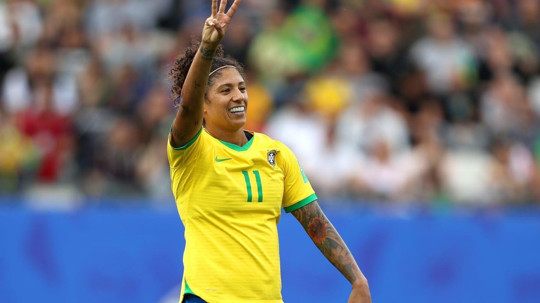 Cristiane marcou 3 gols contra a Jamaica / Divulgação / FIFA