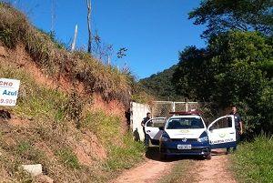 Fiscalização na zona rural de Taubaté registra embargo e multa