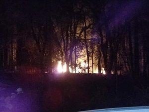 Bar é destruído por incêndio em Campos do Jordão