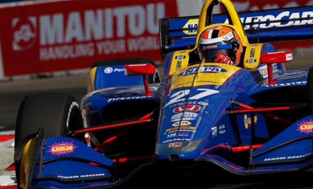 Rossi saiu na frente e venceu