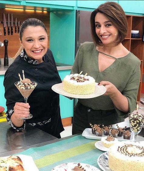 Catia e chef Pammela / Divulgação