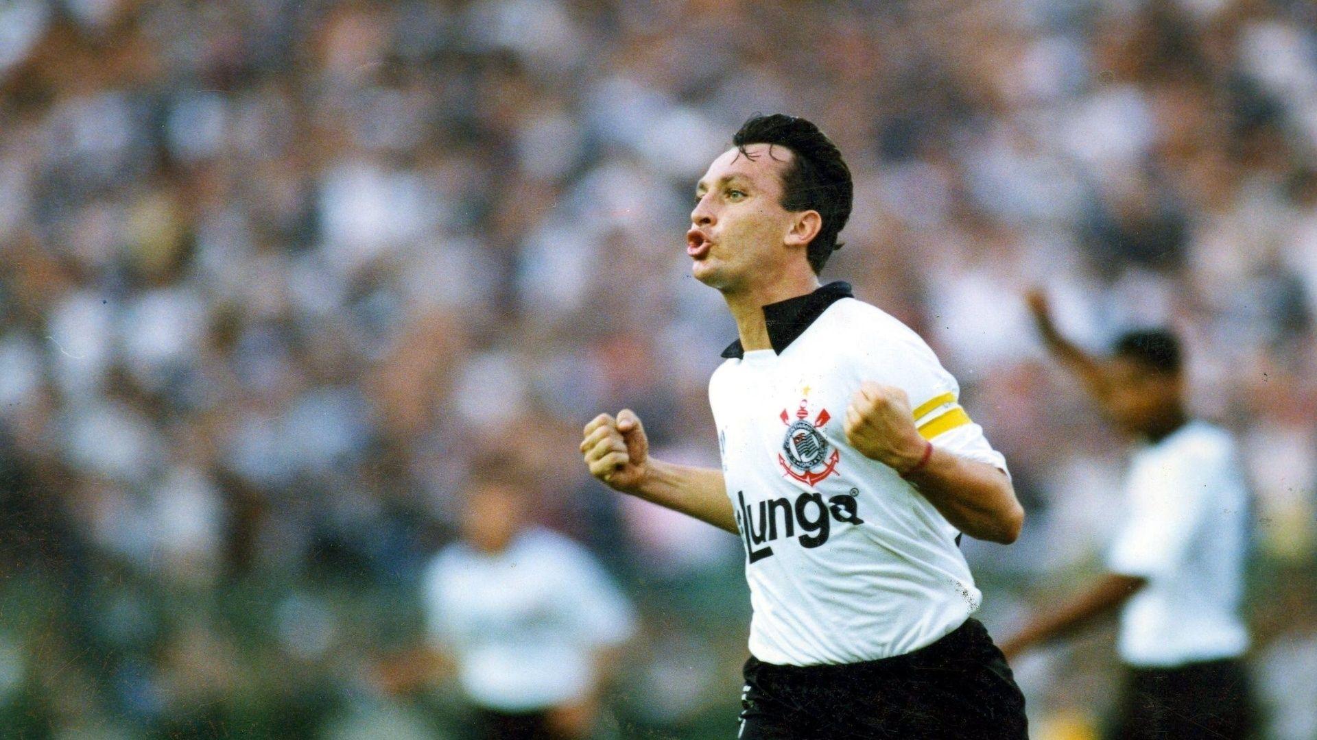 Neto na época em que jogava pelo Corinthians / Divulgação