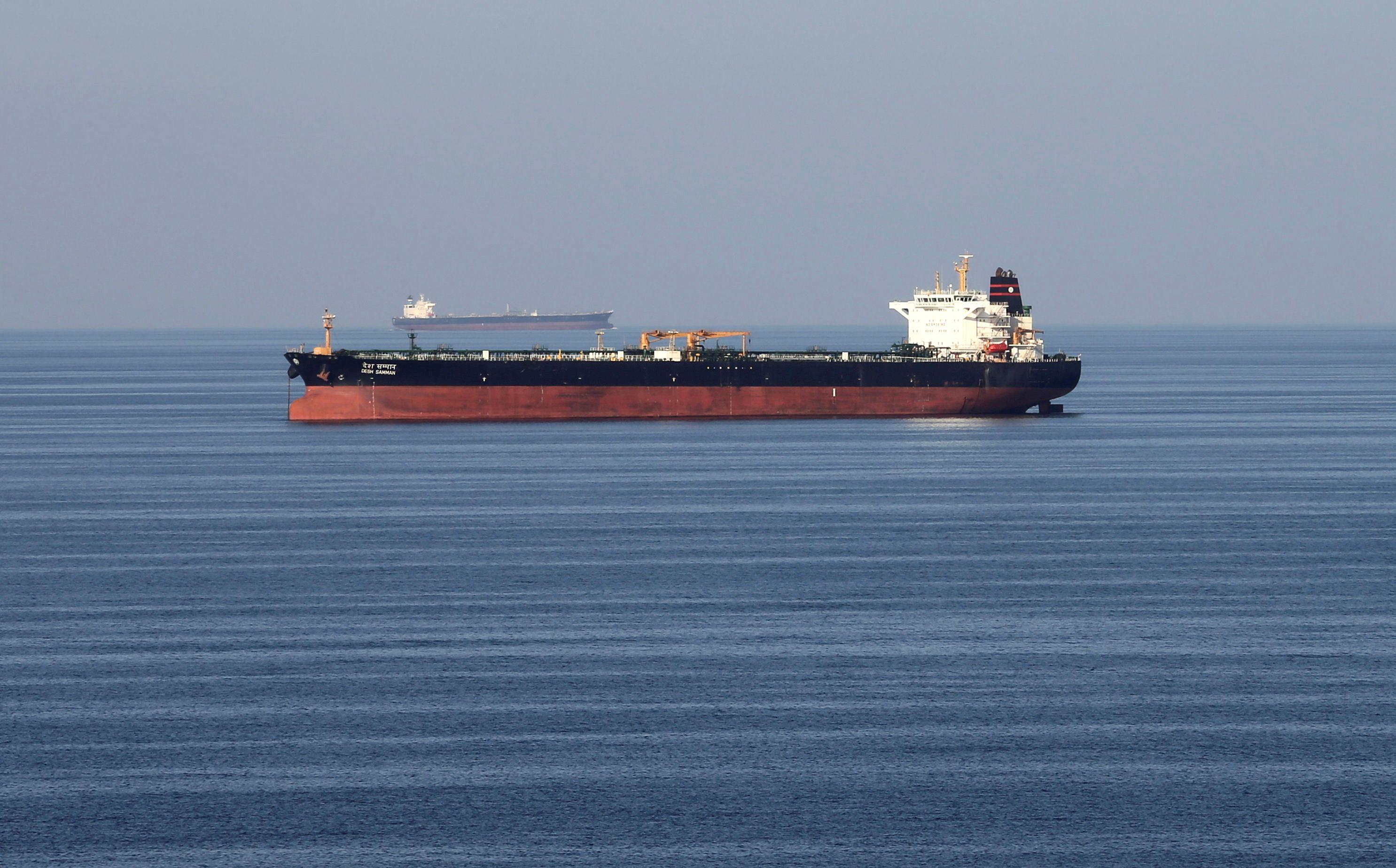 Irã diz que apreendeu navio após colisão e Reino Unido critica decisão