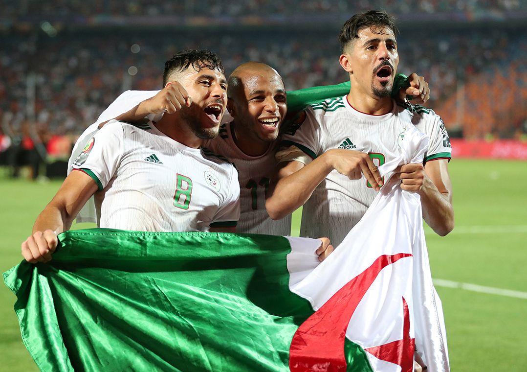Argélia havia conquistado o título pela primeira vez em 1990 / Suhaib Salem/Reuters