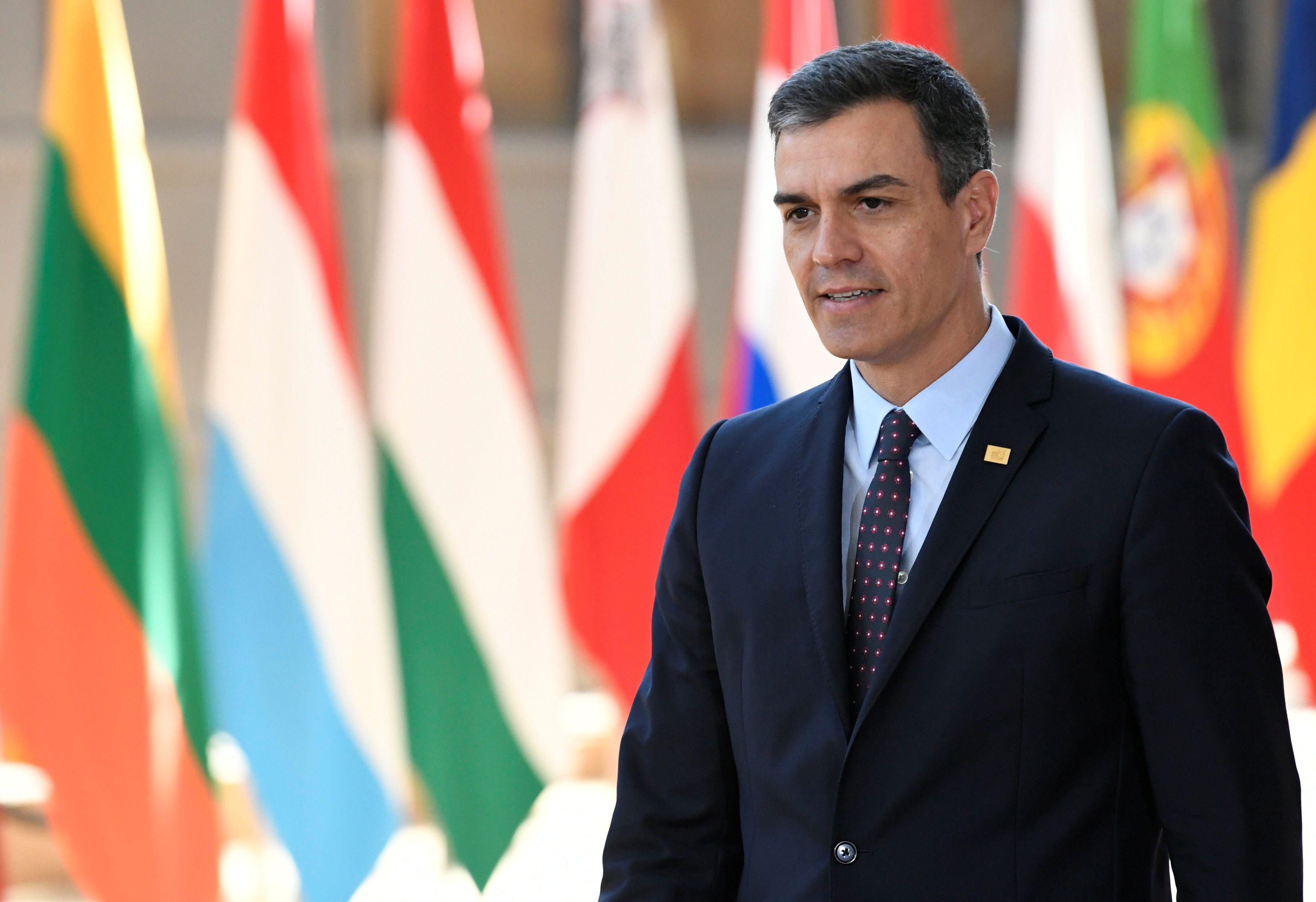 Partido espanhol aceita condição de acordo de coalizão com socialistas