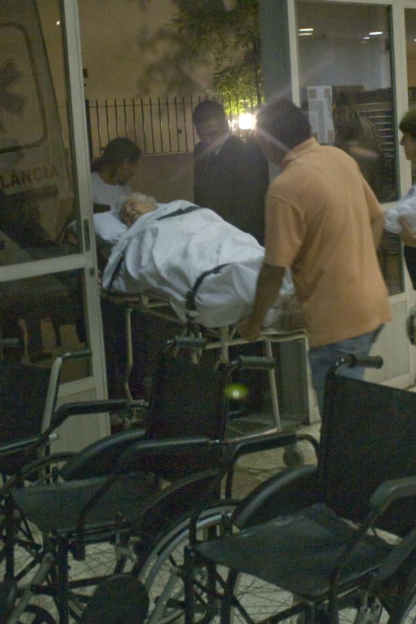 Paciente é transferido após ação de despejo contra hospital