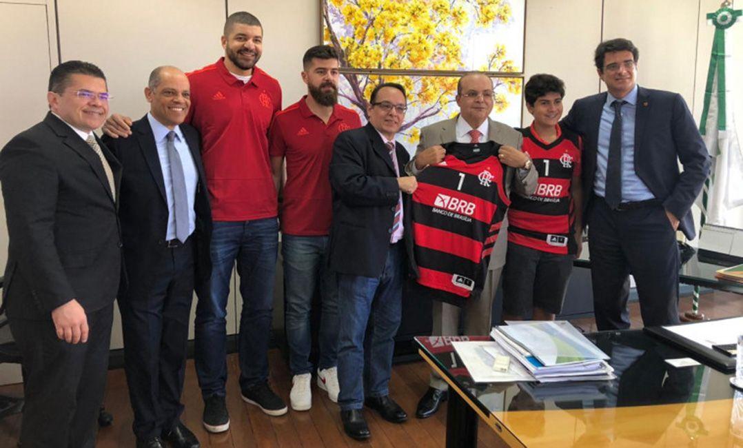 Após perder Varejão, Fla anuncia BRB como patrocinador master