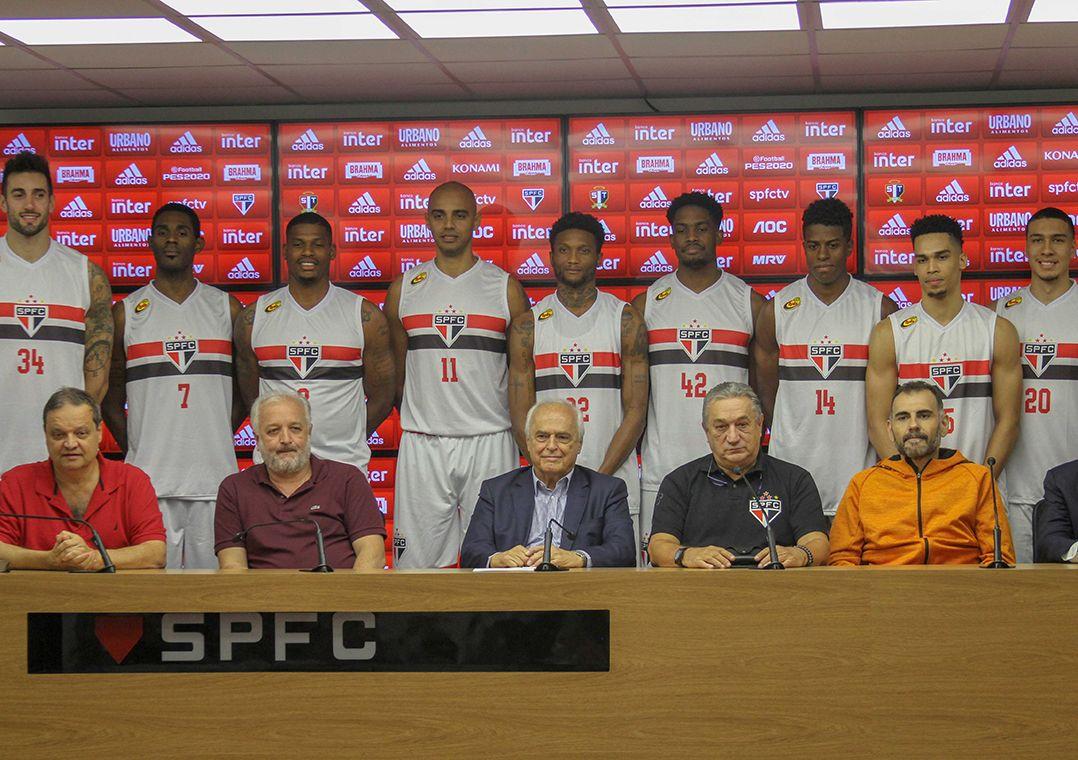 Com Shamell e Georginho, São Paulo apresenta time de basquete