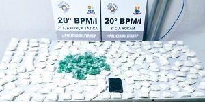 Cerca de 3,5 kg de drogas são apreendidos em Caraguatatuba