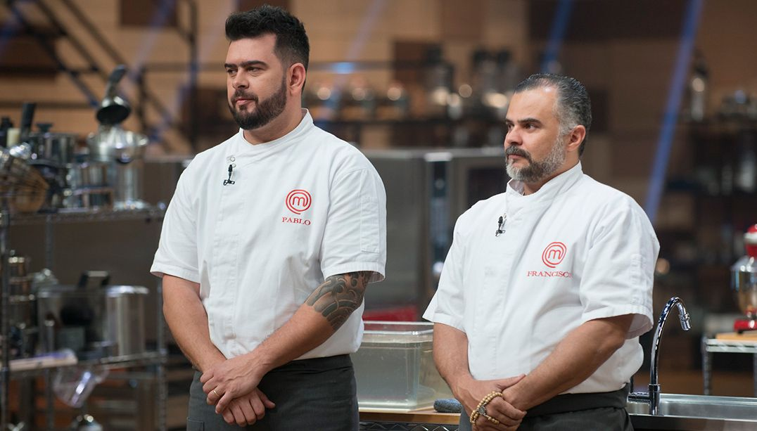 Francisco relembra final contra Pablo no MasterChef Para Tudo