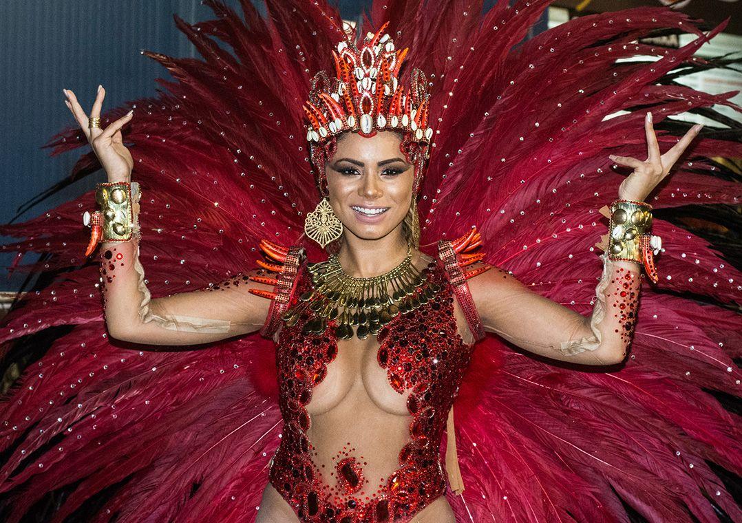 Lexa é anunciada como a nova rainha de bateria da Unidos da Tijuca