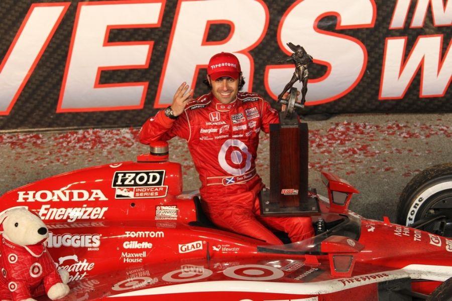 Dario Franchitti é o atual líder do Mundial de Fórmula Indy