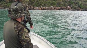 Redes irregulares utilizadas para pesca são apreendidas em Ilhabela