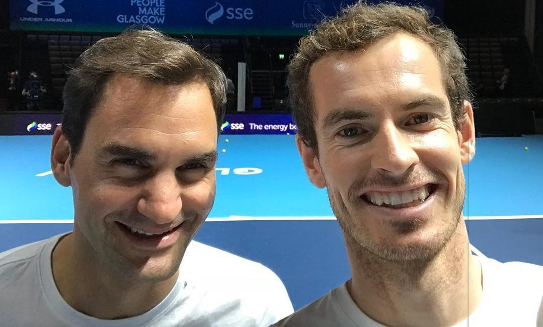 ATP Cup pode ter duelo entre Federer e Murray