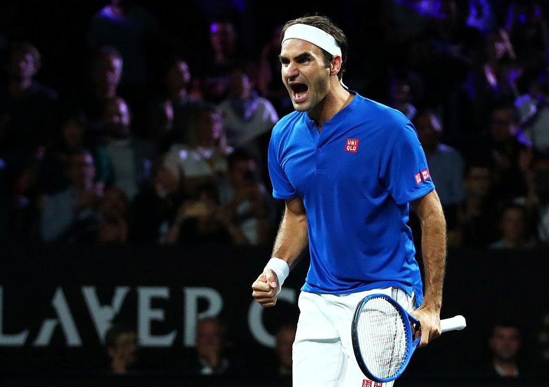 Com Federer nas duplas, Time Europa abre 3 a 1 sobre Time Mundo
