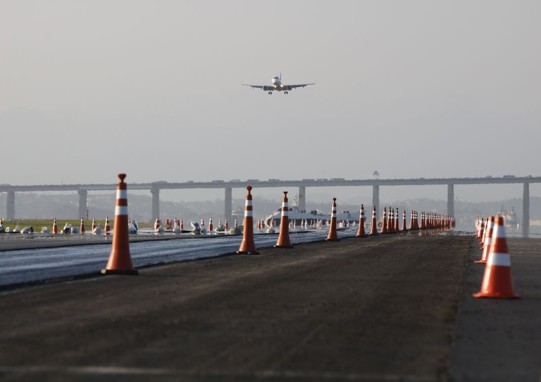 Aeroporto de Congonhas tem queda de 99% no número de passageiros em abril