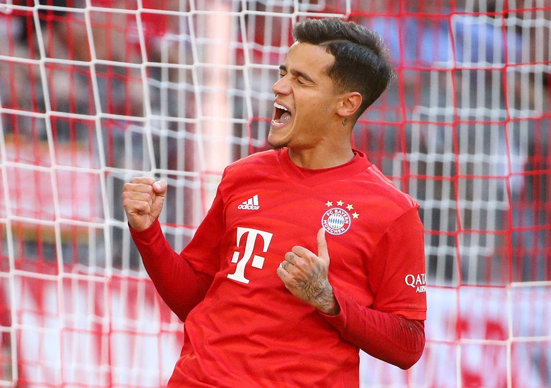 Coutinho desencanta e comanda goleada do Bayern sobre o Colônia