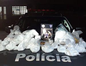 Homem é preso e 23 quilos de drogas são apreendidos em SJC