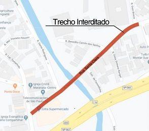Guaratinguetá tem ruas interditadas para obras nessa sexta-feira (4)