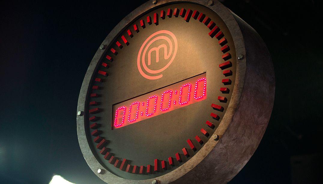 Novo relógio digital do MasterChef