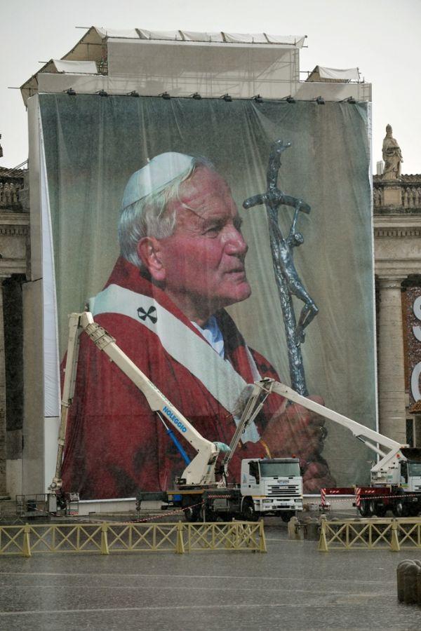 O cinto do Papa é venerado como uma relíquia no santuário mariano de Jasna Gora