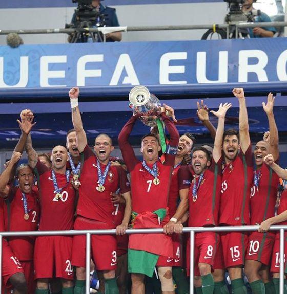 Portugal foi campeão da Euro em 2016 / Divulgação