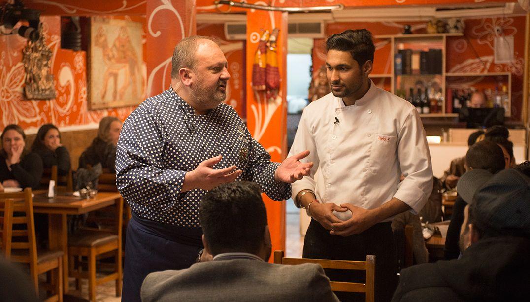 Erick Jacquin resgata restaurante indiano da sujeira; veja o episódio
