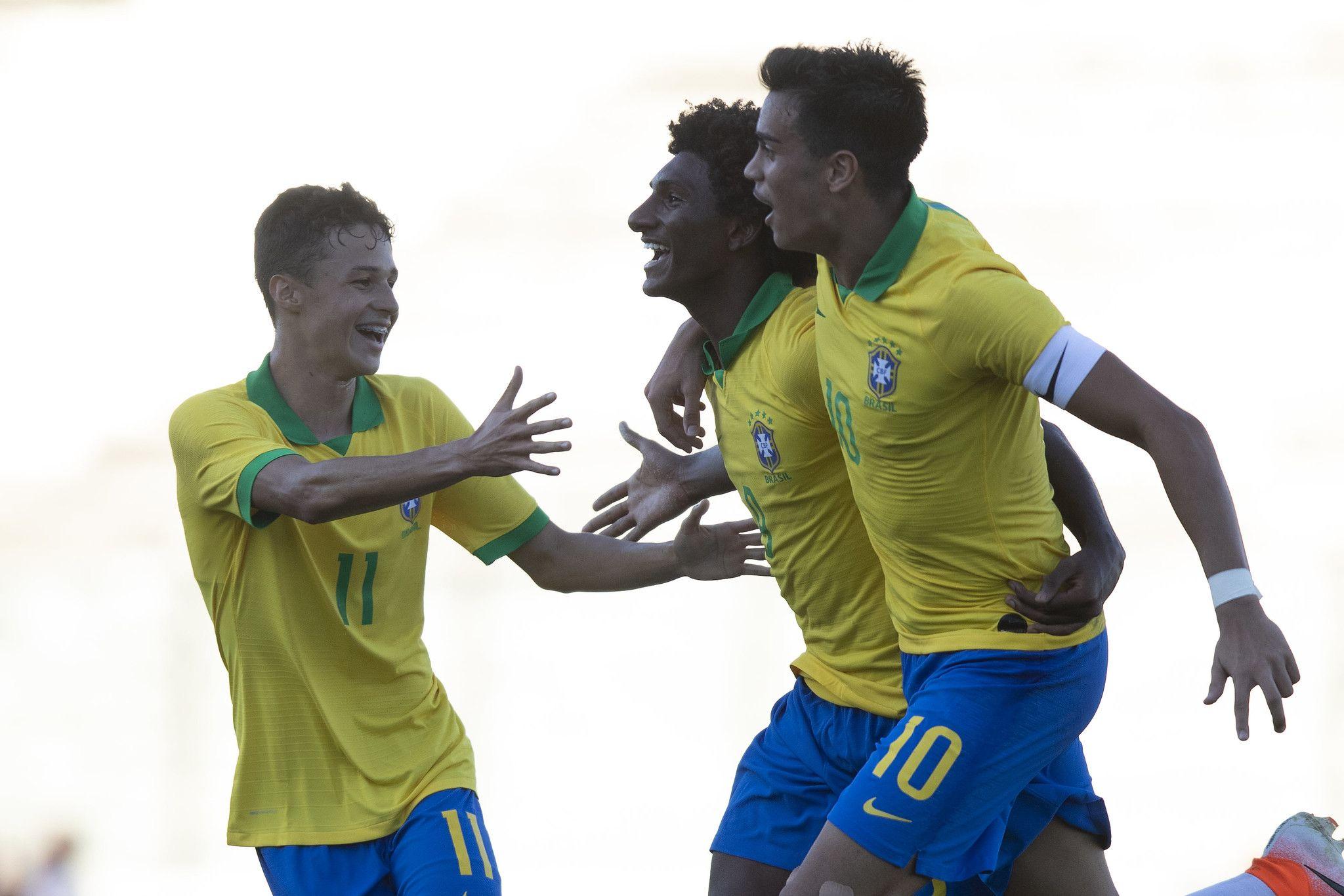 A estreia da Seleção Brasileira Sub 17