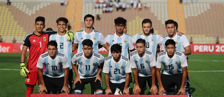 Seleção da Argentina sub 17 / Divulgação / FIFA
