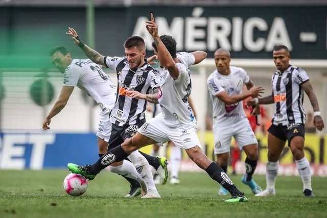 Atlético MG x Santos / Bruno Cantini / Atlético-MG