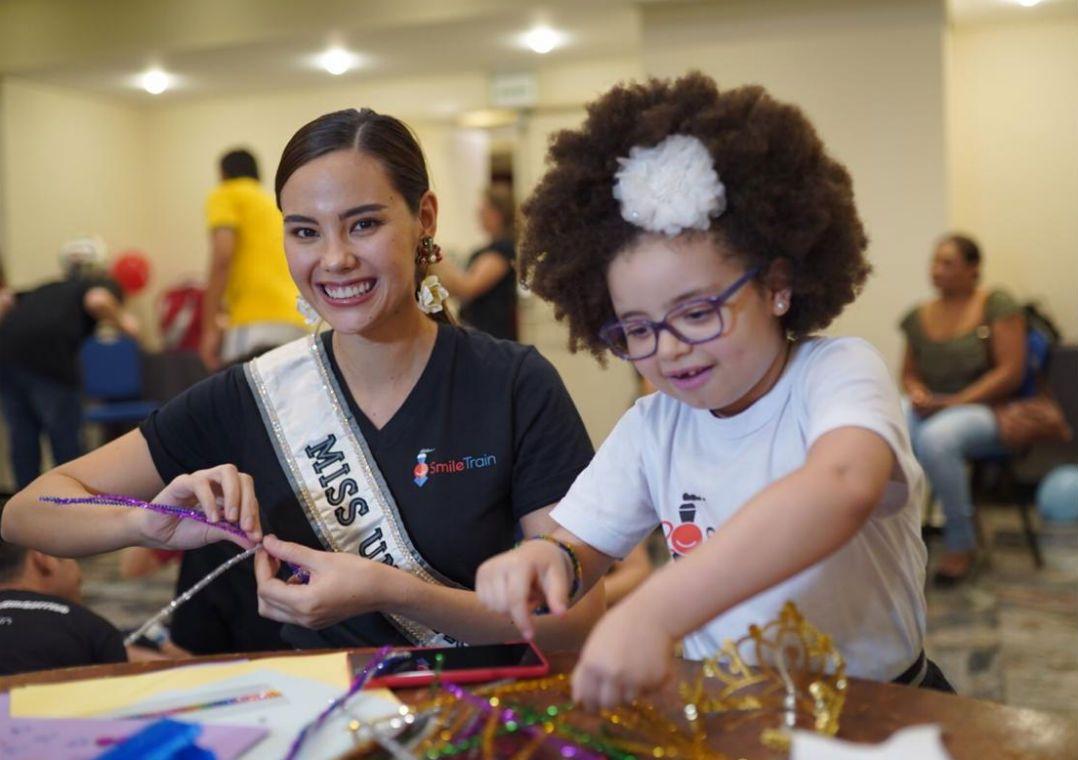 Miss Universo 2018 está no Brasil para apoiar causa filantrópica