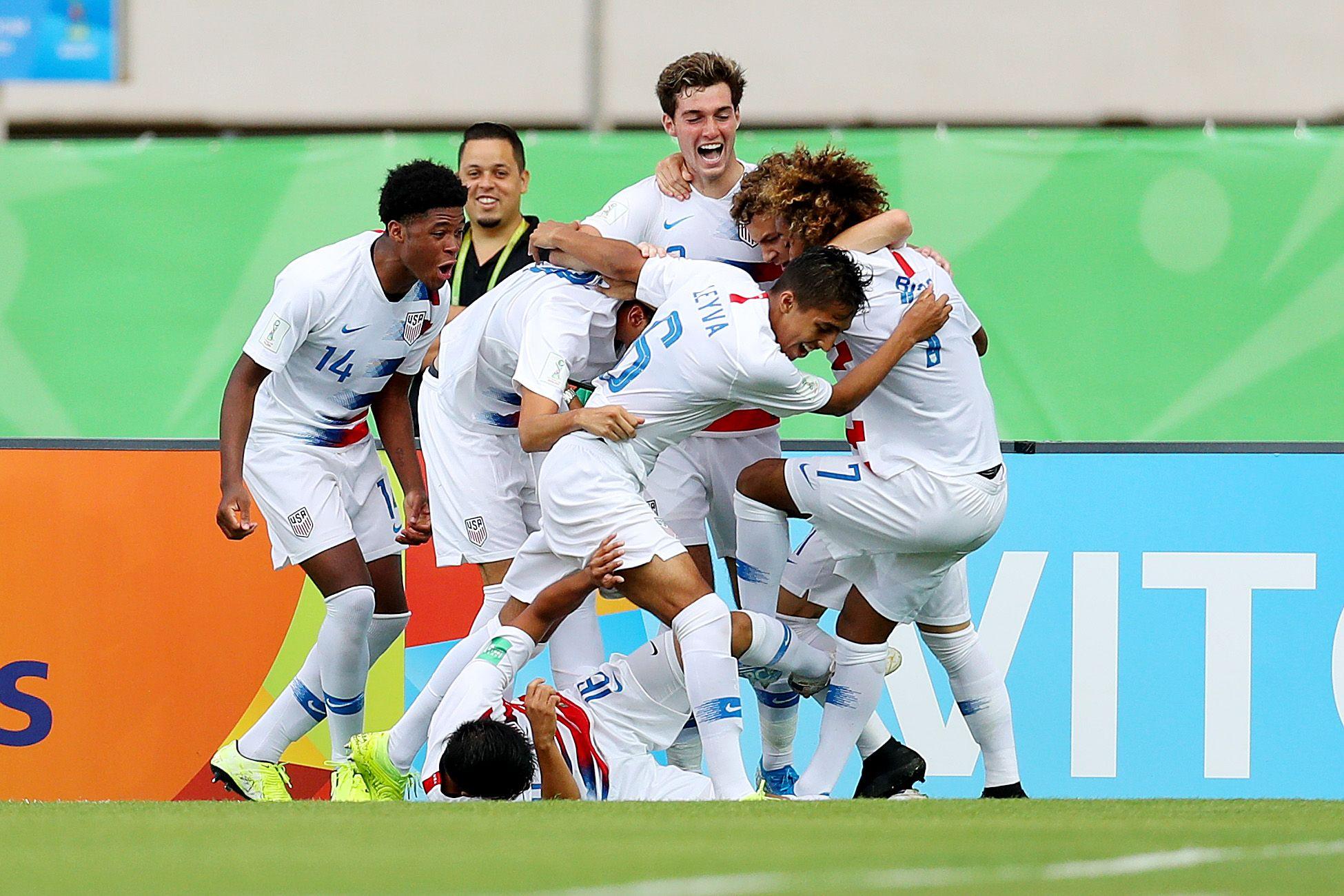 Seleção dos EUA sub 17 / Divulgação / FIFA