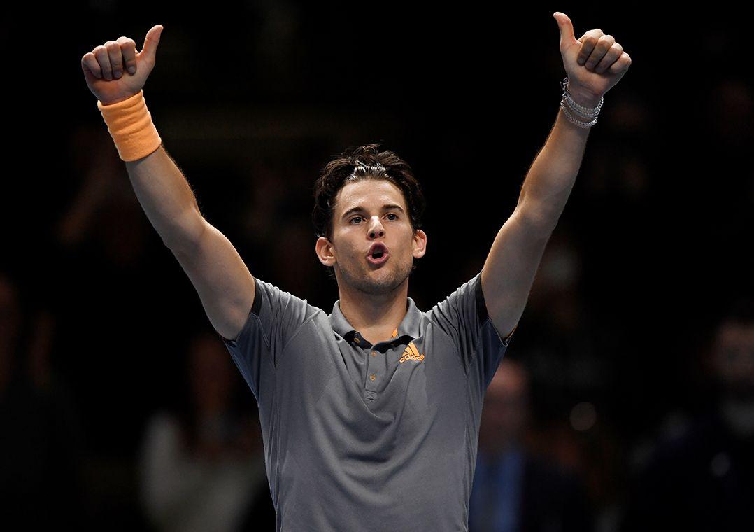 Thiem derrota Djokovic de virada e garante vaga antecipada à semi