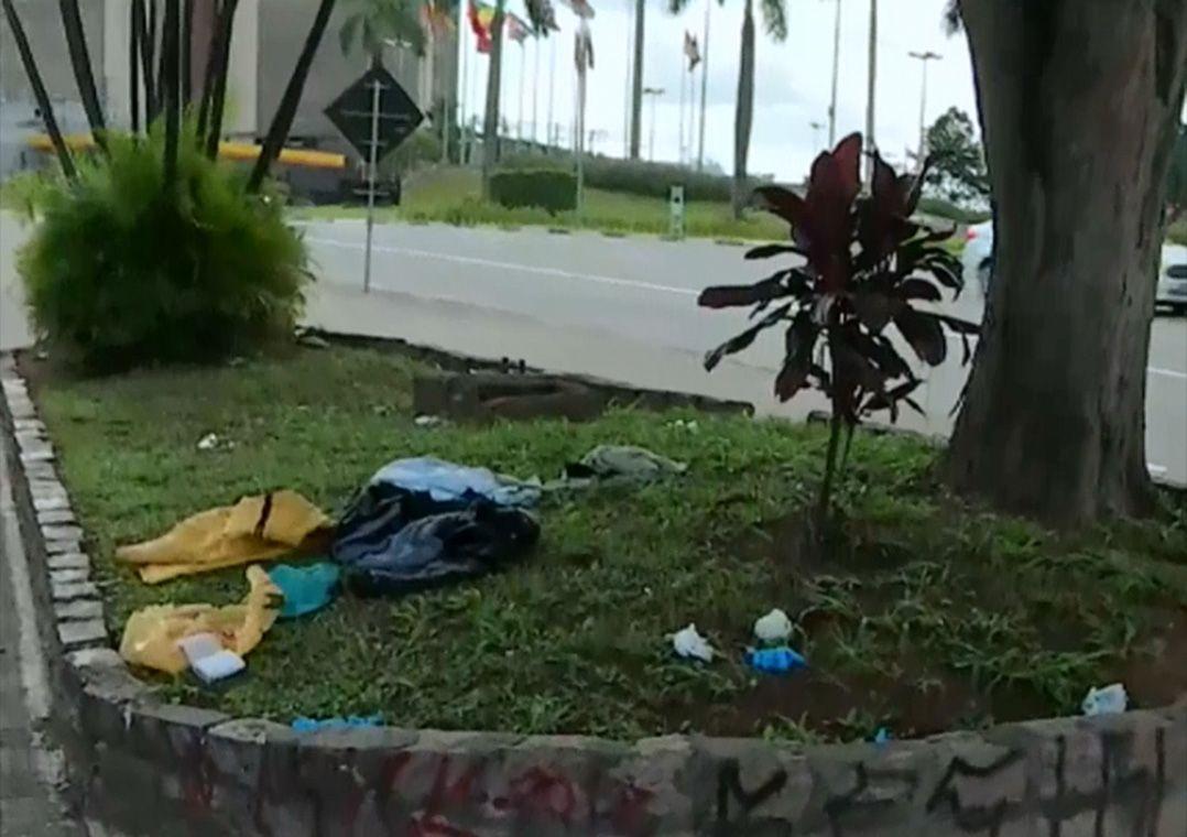 Quatro moradores de rua seguem em estado grave / Reprodução/Band