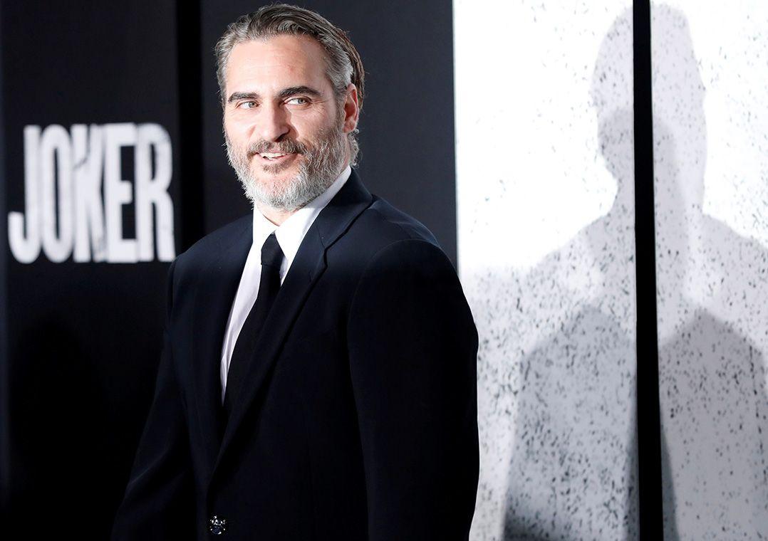 Joaquim Phoenix durante pré-estreia de Coringa, em Los Angeles / Mario Anzuoni/Reuters