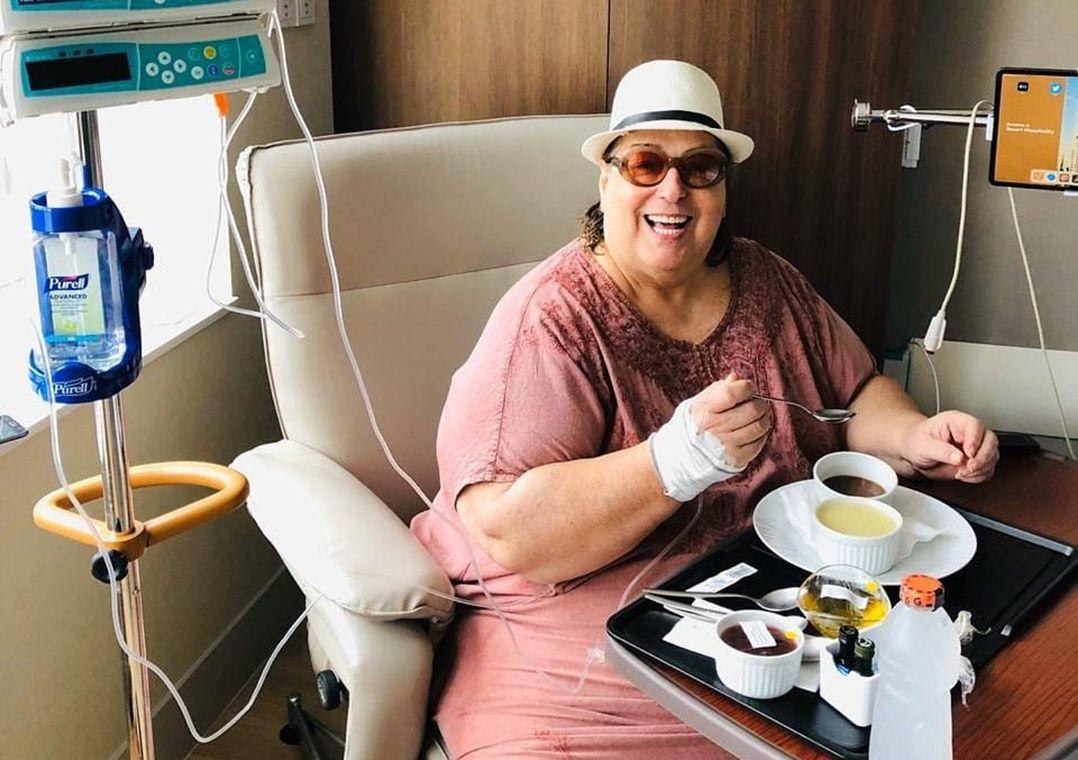 Mamma Bruschetta disse que procedimento cirúrgico foi um sucesso / Divulgação/Instagram
