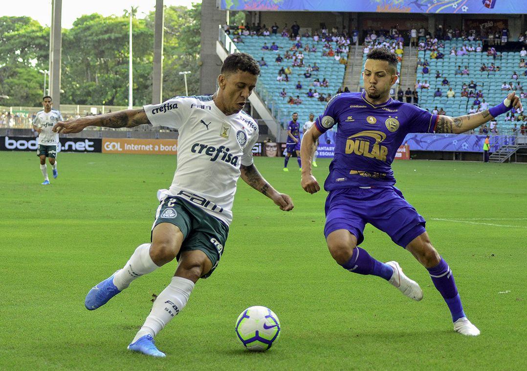 Palmeiras saiu perdendo e buscou o empate na etapa final / Jhony Pinho/Agif/Estadão Conteúdo