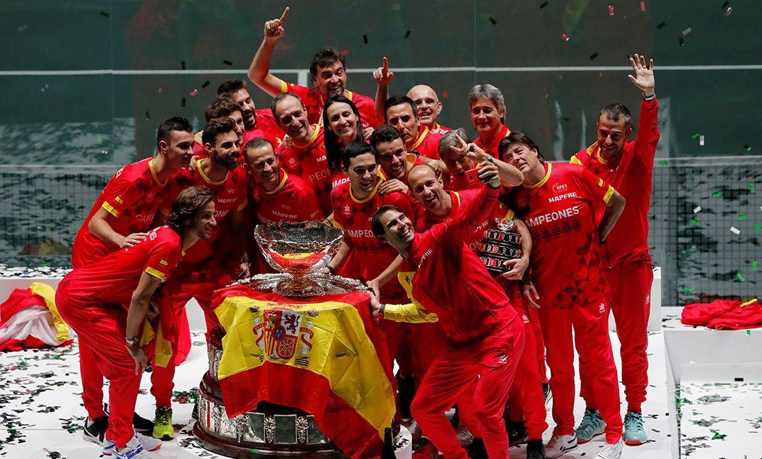Nadal decide e Espanha fatura em casa a 1ª edição da nova Copa Davis