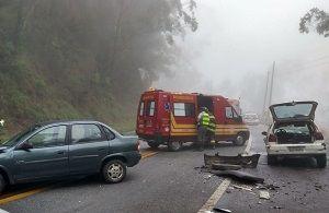 Acidente na Rodovia Floriano Rodrigues deixa três feridos