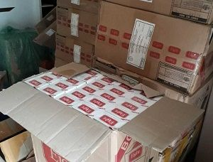 Mais de 30 mil maços de cigarro são apreendidos em Caraguatatuba