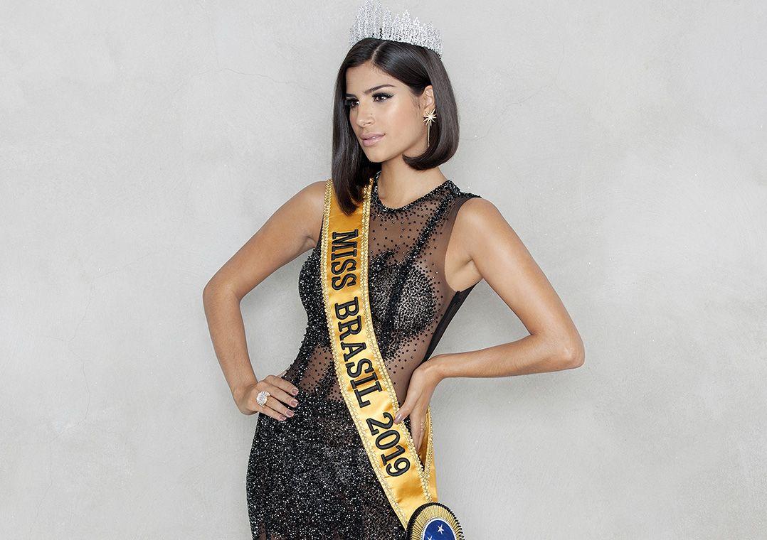 Renata Fan apresenta o Miss Universo 2019 neste domingo