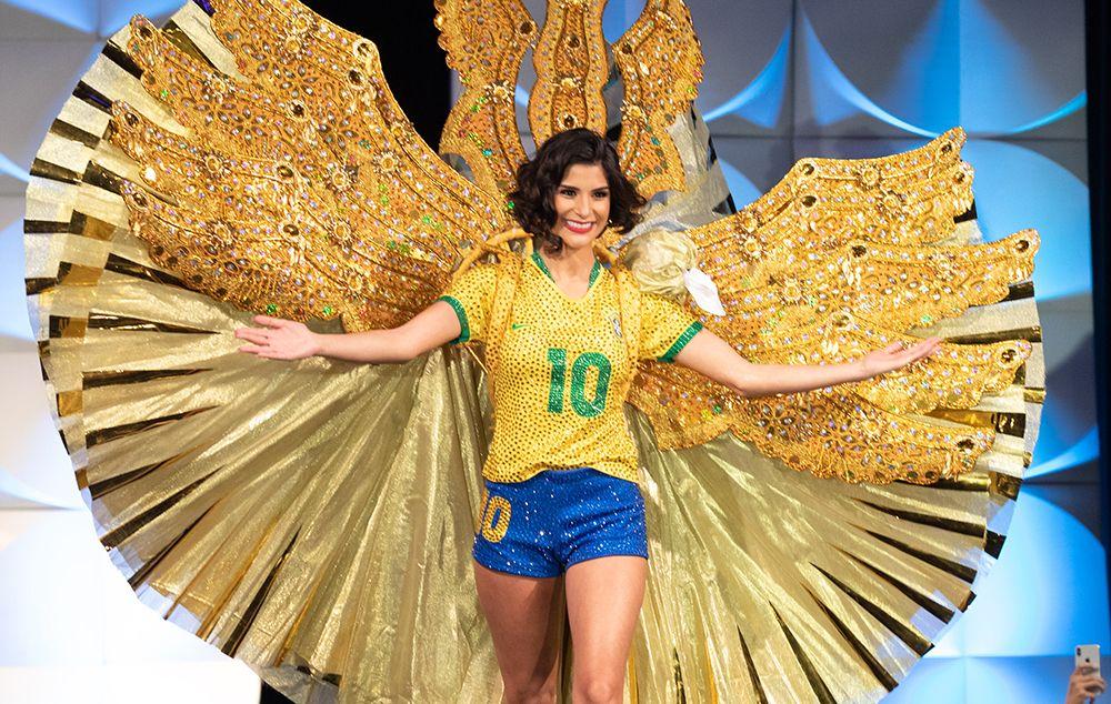 Júlia Horta representou o futebol feminino