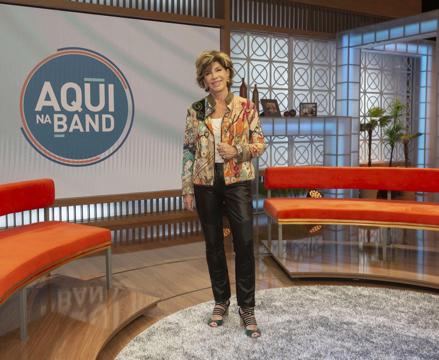 Silvia Poppovic se afasta do Aqui na Band