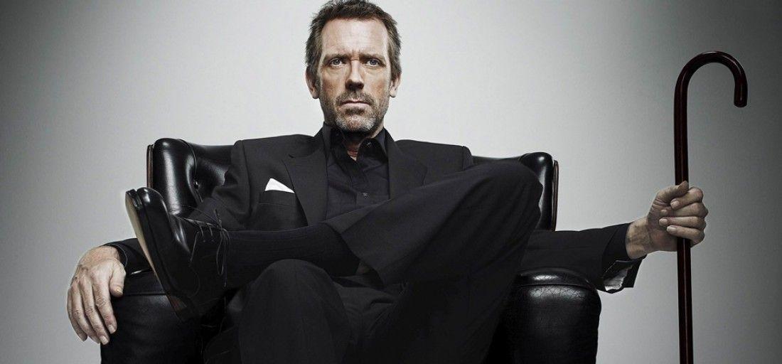 Hugh Laurie é Dr. House / Divulgação
